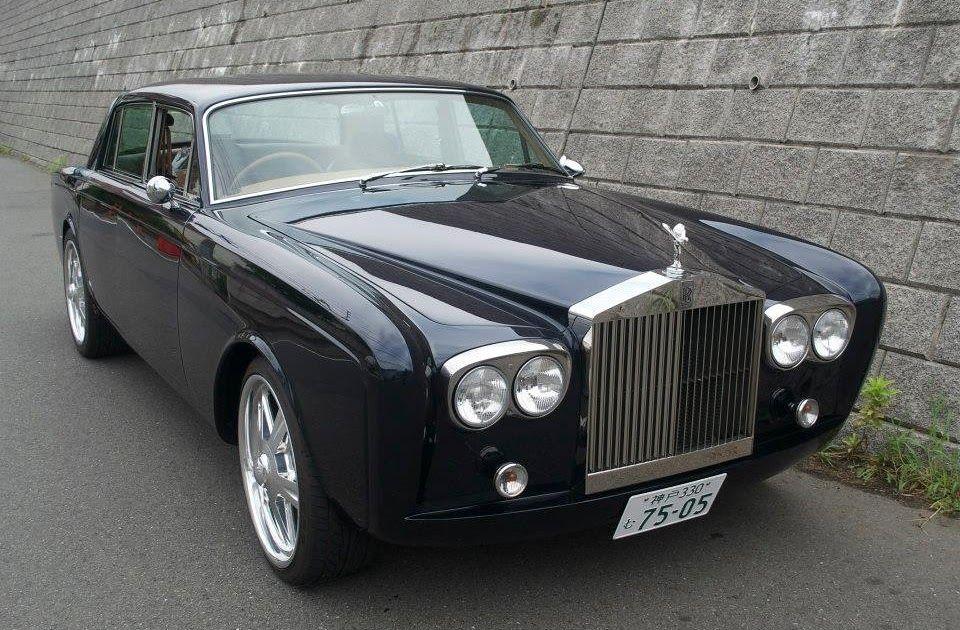 Here's an interesting customised 1975 RollsRoyce Silver
