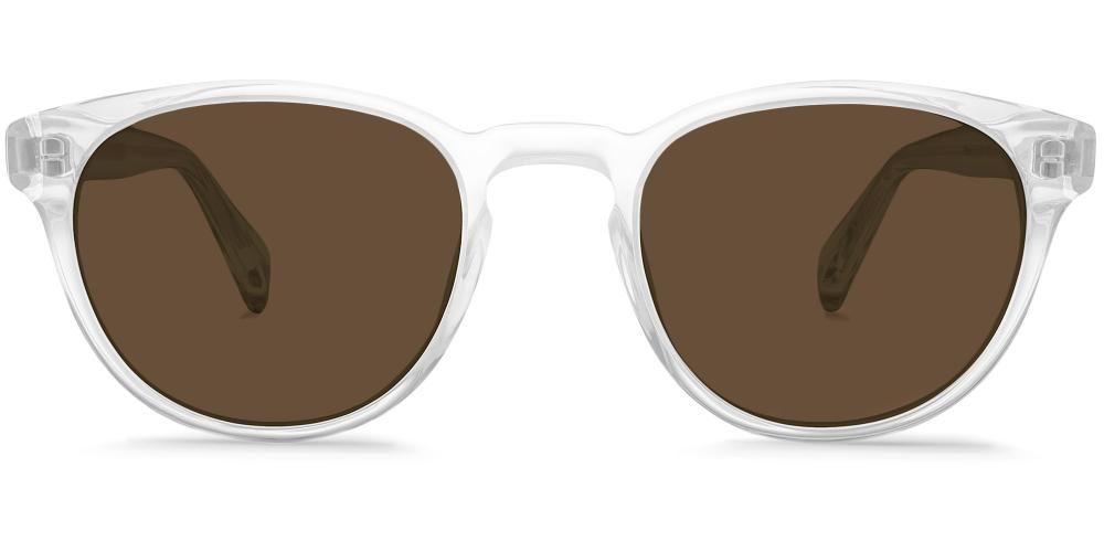 cb92fdefe7a8a Percey Sunglasses in Striped Sassafras with Classic Brown lenses for ...