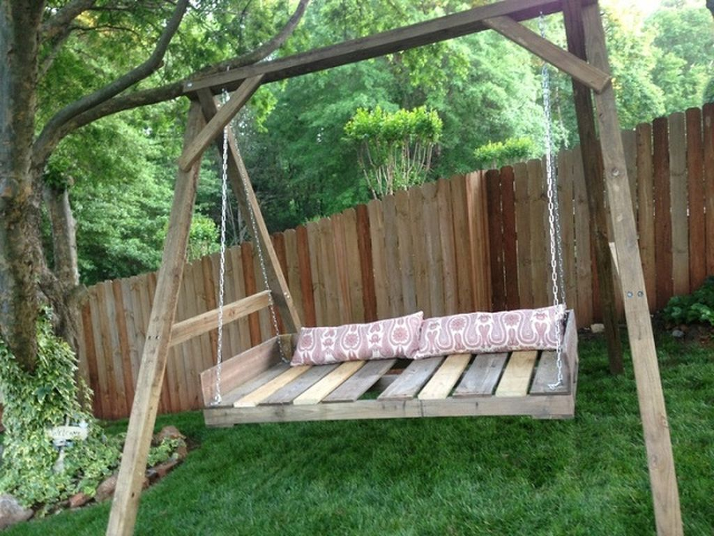 30 Pallet Bed Swing At Backyard Ideas Pallet Swing Diy Pallet Swing Beds Pallet Diy