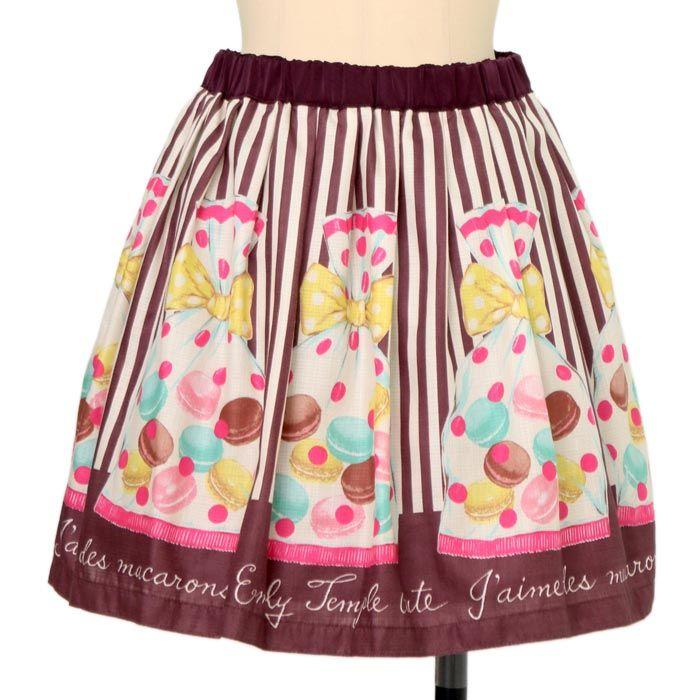 f1f5e0a939eab ラッピングマカロンスカート|ロリィタファッションEmily Temple cute ...