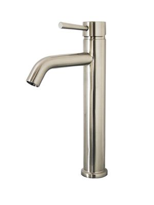 The Hydron Bathroom Faucet Features A Solid Brass Construction With - Nickel finish bathroom faucets