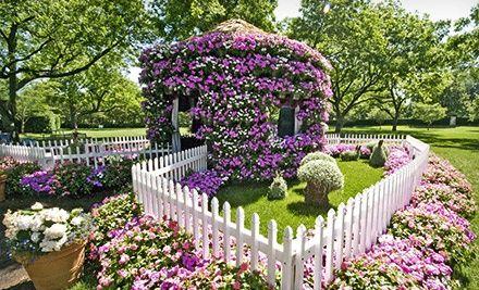 Adventures In Wonderland Flower Village At Dallas Arboretum And Botanical  Gardens
