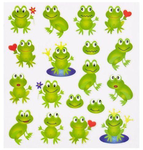 Amazon De Hobby Design Sticker Frosche Frog Crafts Preschool Frog Art Frog Drawing