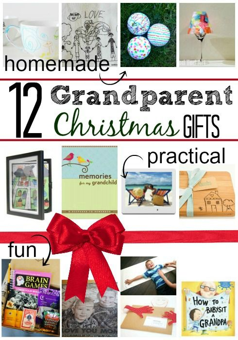 12 gifts for grandma and grandpa 9 is so cool - Grandparent Christmas Gifts