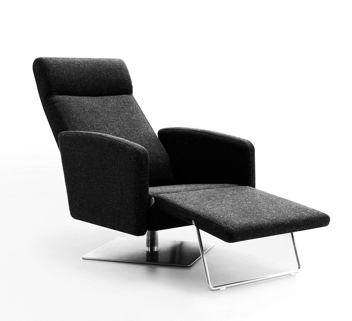 Abbot Modern Fabric Reclining Lounge Chair Modern Recliner Leather Chaise Lounge Chair Recliner