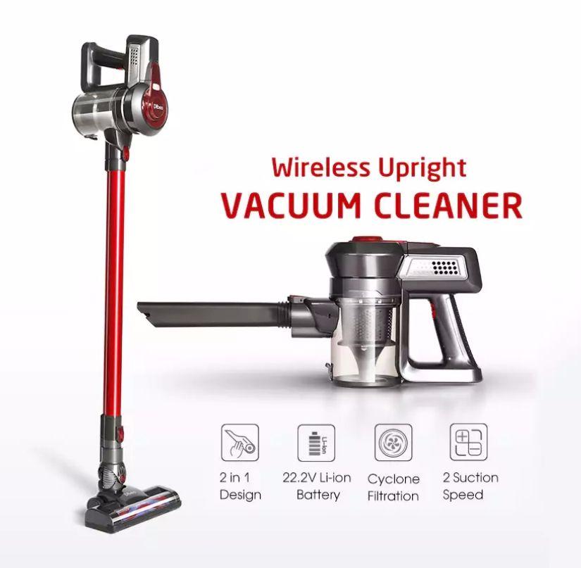 New Coupon Dibea 2 In 1 Wireless Vacuum Cleaner For 79 99 קופון הנחה ענק לישראלים על שואב האבק המבוקש Upright Vacuums Vacuum Cleaner Upright Vacuum Cleaner