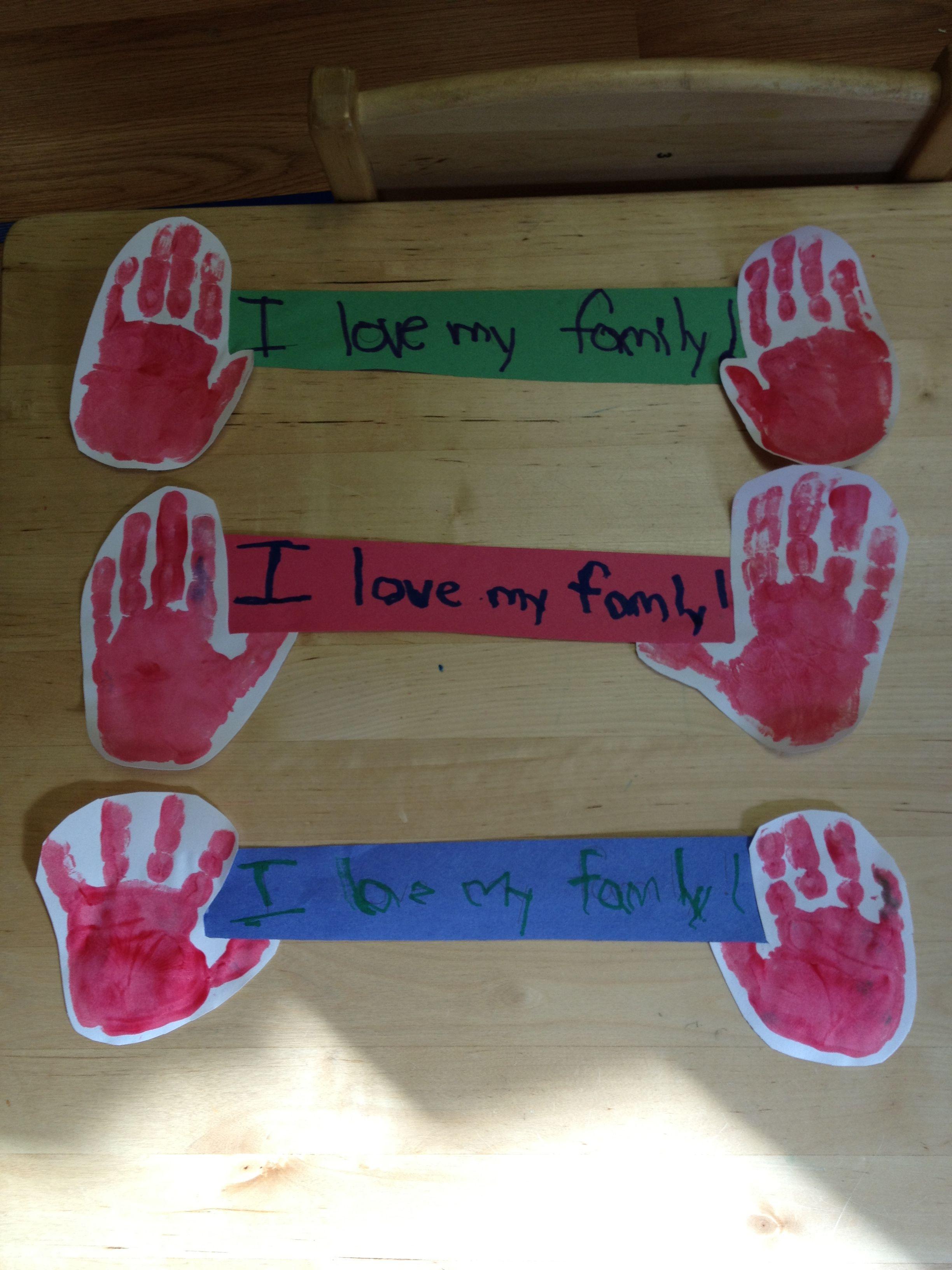 Family Art Preschool Thanksgiving Projects