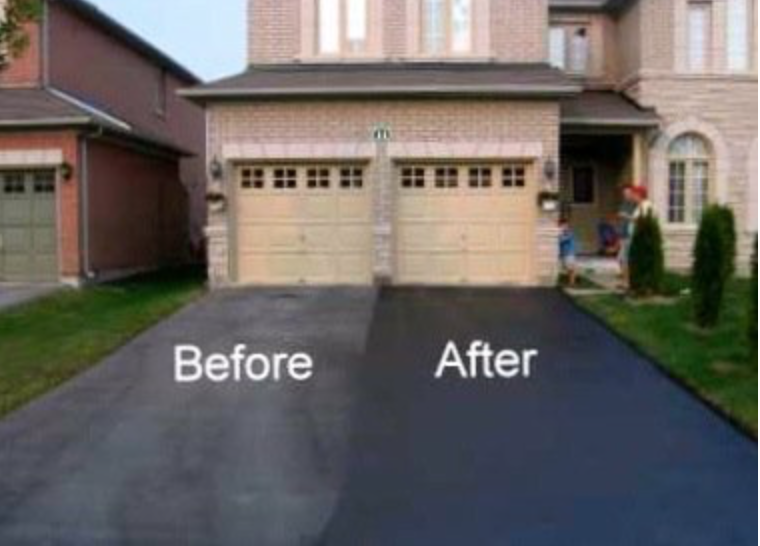 The Right Temperature Is Key For Applying A Sealant To Your Asphalt Driveway Call Today To Schedule Your Appo Curb Appeal Driveway Paint Paint Colors For Home