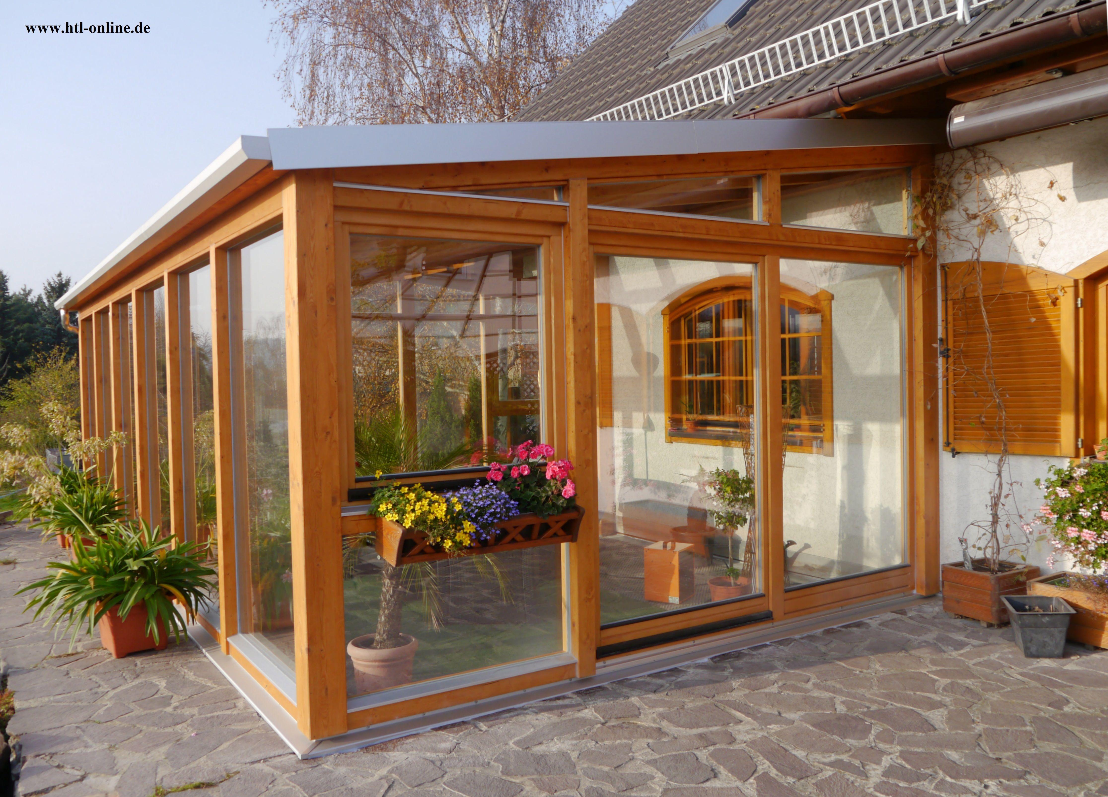 Wintergarten aus Holz - HTL #Holztechnik #Holz #Arbeit mit