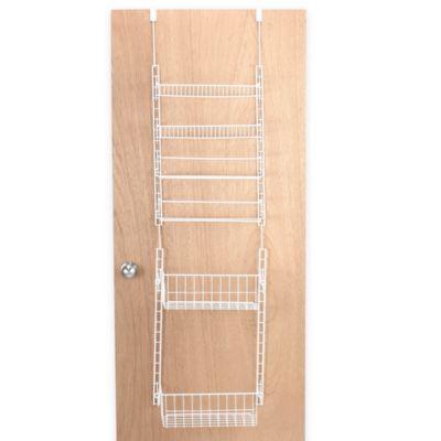 Over-the-Door Deluxe Household Organizer Pantry Rack - BedBathandBeyond.com