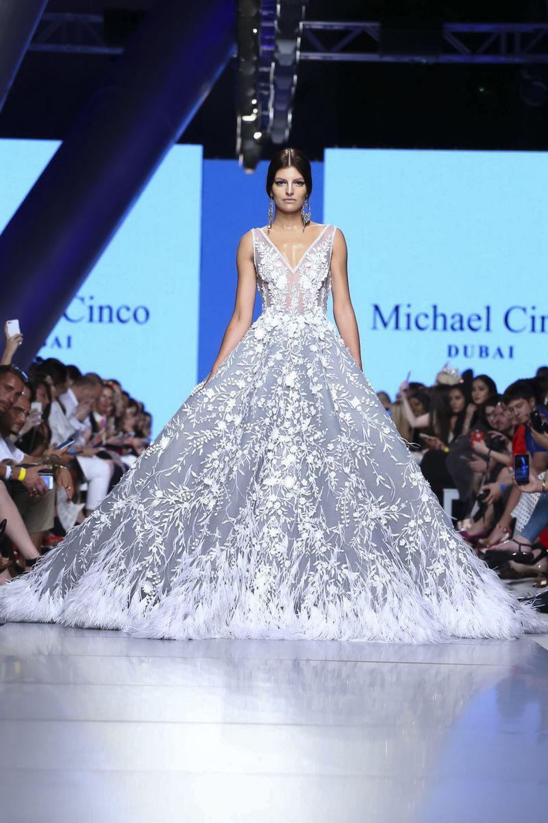 Michael Cinco Fall Winter 2017 Arab Fashion Week Dubai | Wedding ...