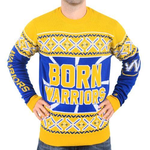 b7323b35a5d9 NBA Golden State Warriors Klew Slogan Ugly Sweater