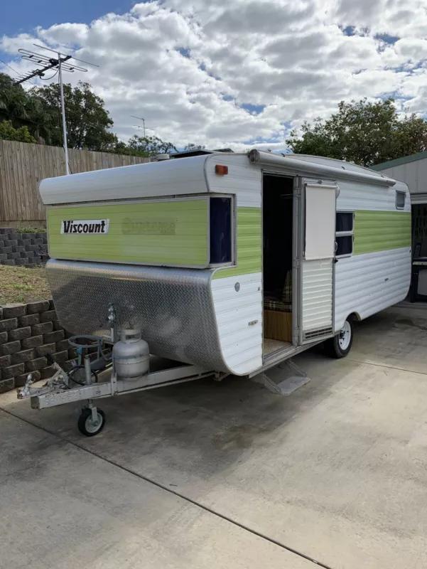 Retro 1979 Viscount Supreme Caravan Caravans Gumtree Australia Noosa Area Yandina Creek 1224311948 Retro Caravan Viscount Caravan Caravans For Sale