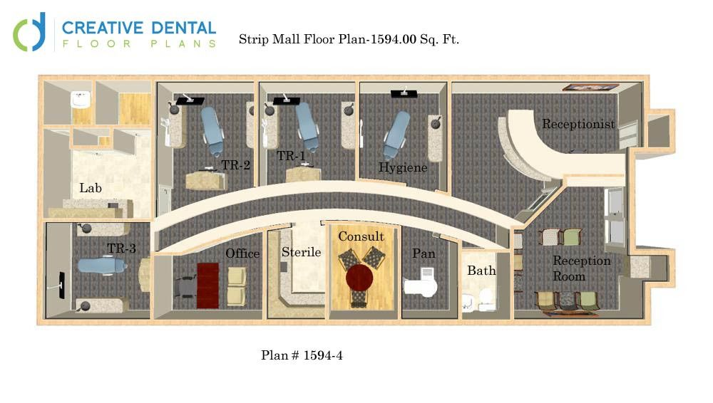 Creative Dental Floor Plans General Dentist Office Plans