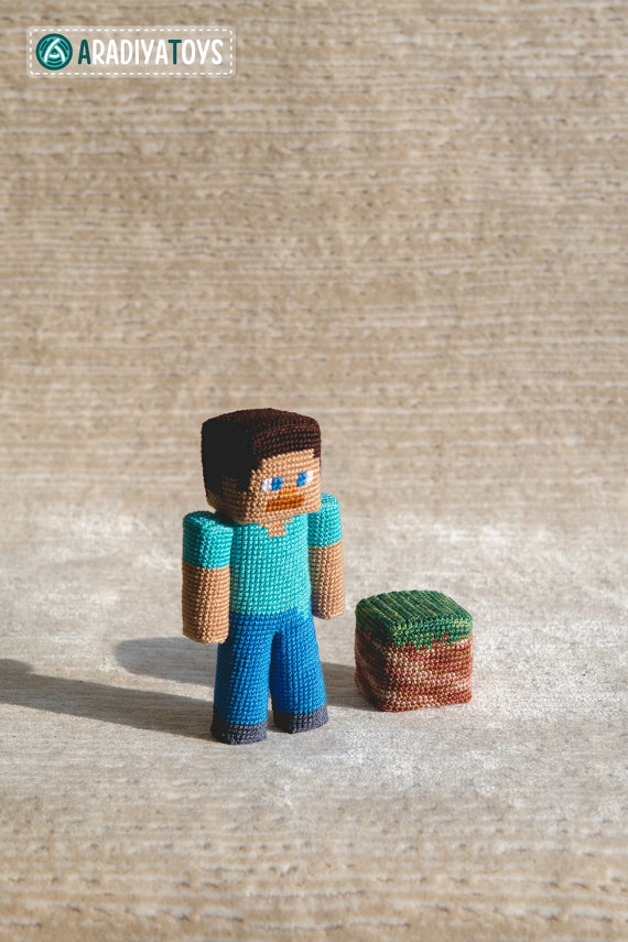 Crochet Pattern of the Guy with piece of dirt (Amigurumi tutorial ...