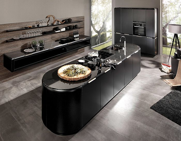Kitchen Design Trends 2016  2017  Oval Shapes  Projects Stunning New Kitchen Design Photos Inspiration