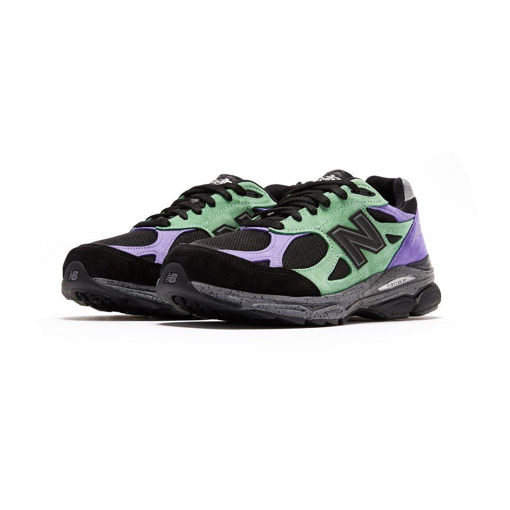 Stray Rats x NEW BALANCE 990v3 Hoka running shoes