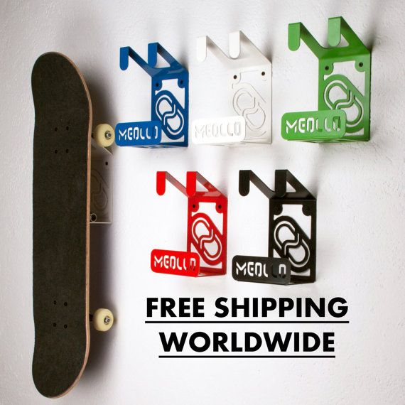 Wunderbar WALL SKATEBOARD RACK / Skateboard Shelf / Skateboard Hanger / Skateboard  Holder / Skateboard Hook /