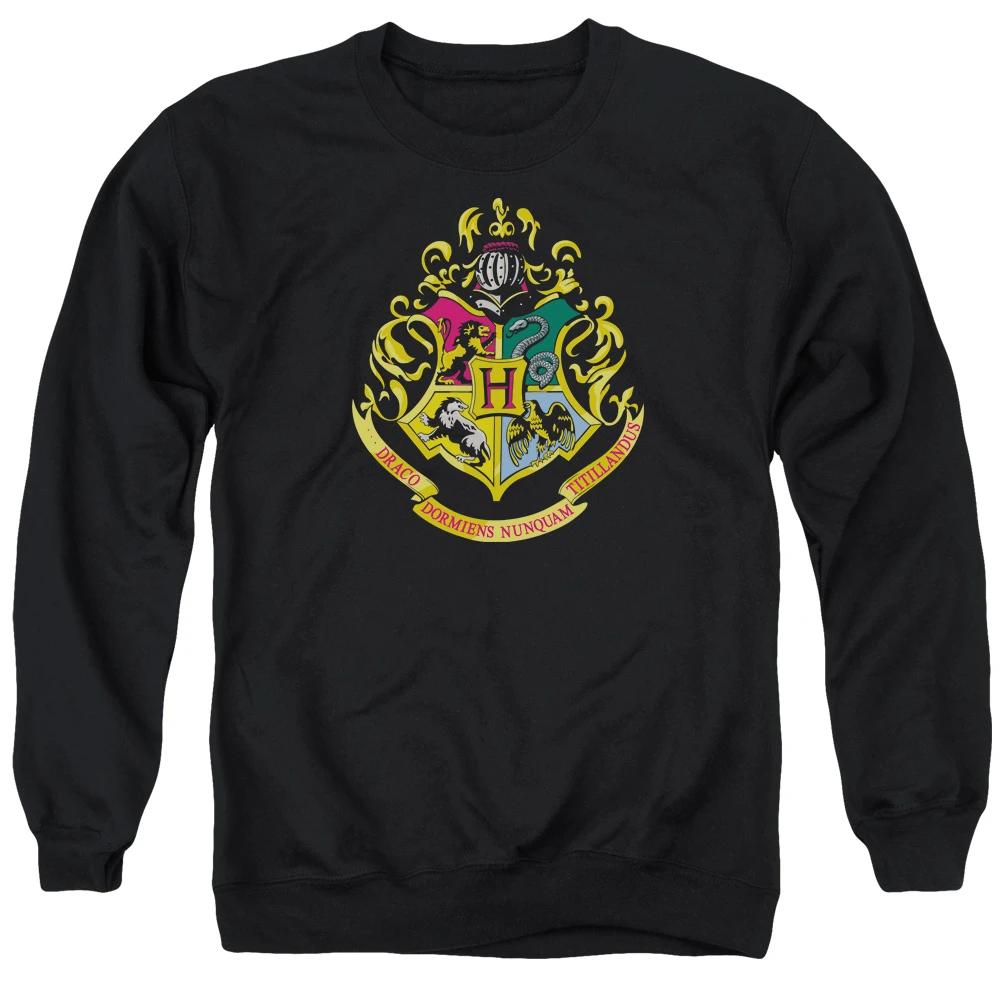 Harry Potter Hogwarts Crest Sweatshirt In 2021 Slytherin Clothes Black Sweatshirts Crew Neck Sweatshirt [ 1000 x 1000 Pixel ]