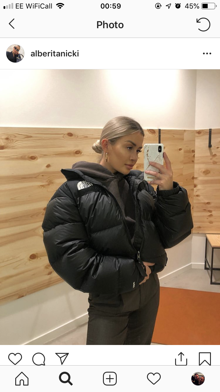 Pin By Lovie On Home North Face Jacket Outfit North Face Puffer Jacket North Face Puffer [ 1334 x 750 Pixel ]