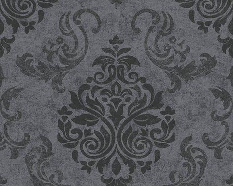 AS Création Vliestapete 953723 Tapete, Tapeten, Taphete - graue tapete wohnzimmer