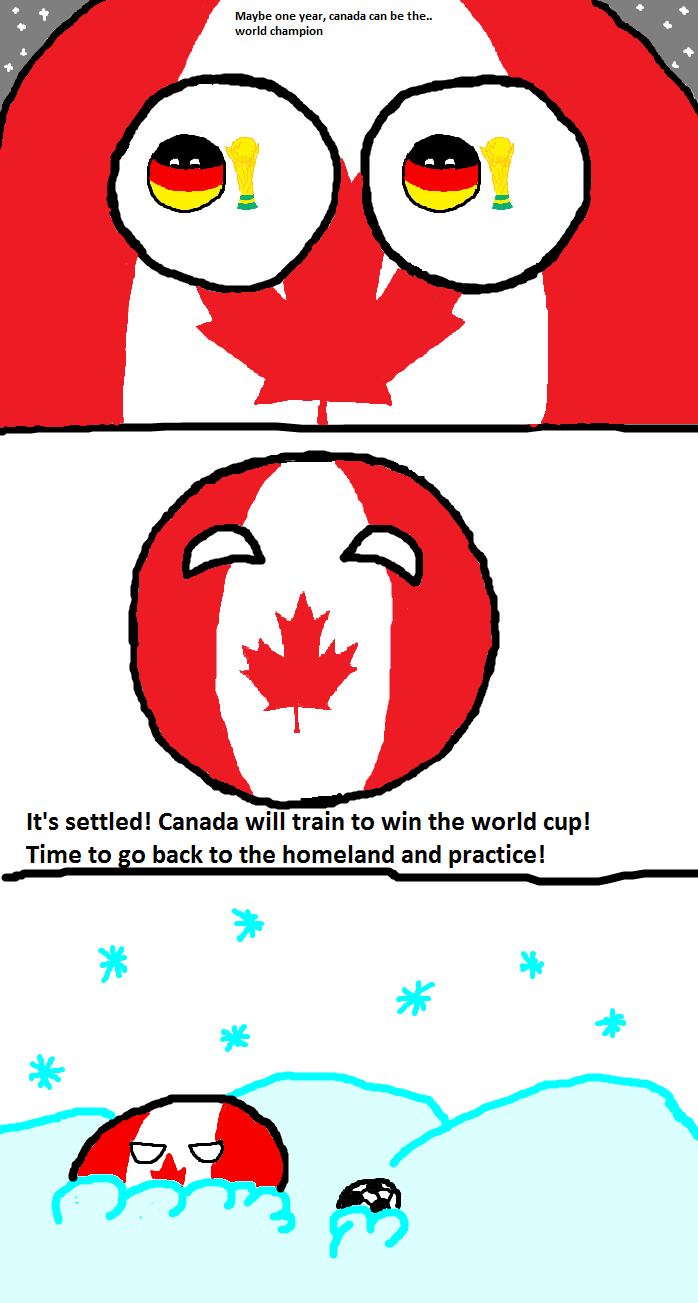 Canada gets inspired | Countryballs! | Pinterest | Humor ...