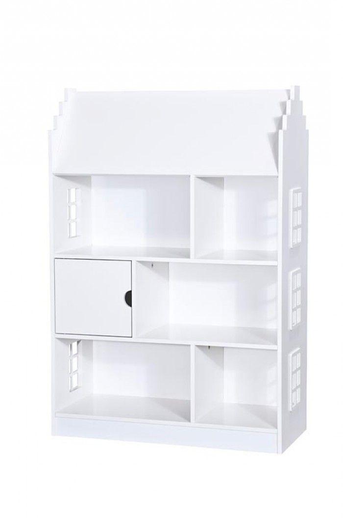 deze boekenkast van leenbakker wordt het poppenhuis