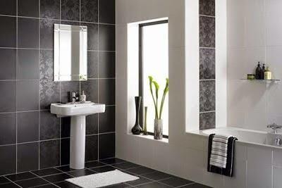 Ba o moderno gris blanco casa pinterest las mejores - Banos blancos modernos ...