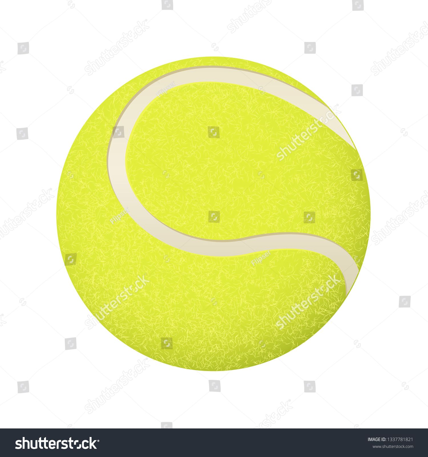 Yellow Tennis Ball Vector 3d Illustration Isolated On White Background Ad Ad Ball Vector Yellow Tennis 3d Illustration Illustration Abstract Design