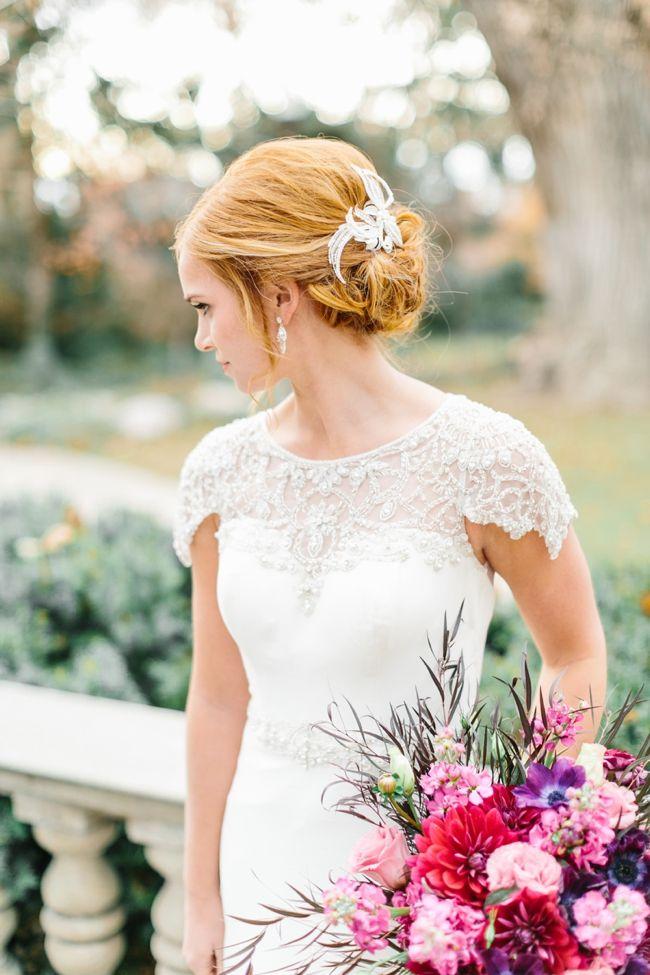 Rothaarige Braut