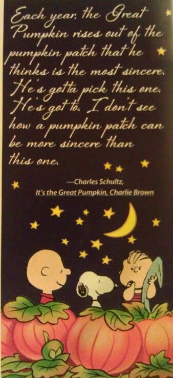 Great Pumpkin Quotes : great, pumpkin, quotes, Charlie, Brown, Would, Great, Transferred, Snoopy, Halloween,, Pumpkin, Brown,, Halloween