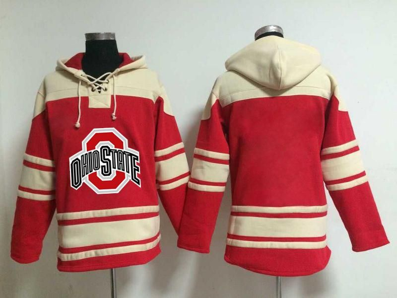 Ice Hockey Sweater Ohio State Buckeyes University Jersey Custom Any Name Any Number Stitched Hoodie Sports Sweater H Hockey Sweater Sport Outfits Hockey Hoodie