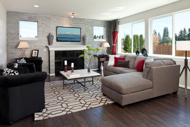 Attractive 15 Inspiring Accent Wall Ideas For The Living Room   Top Inspirations