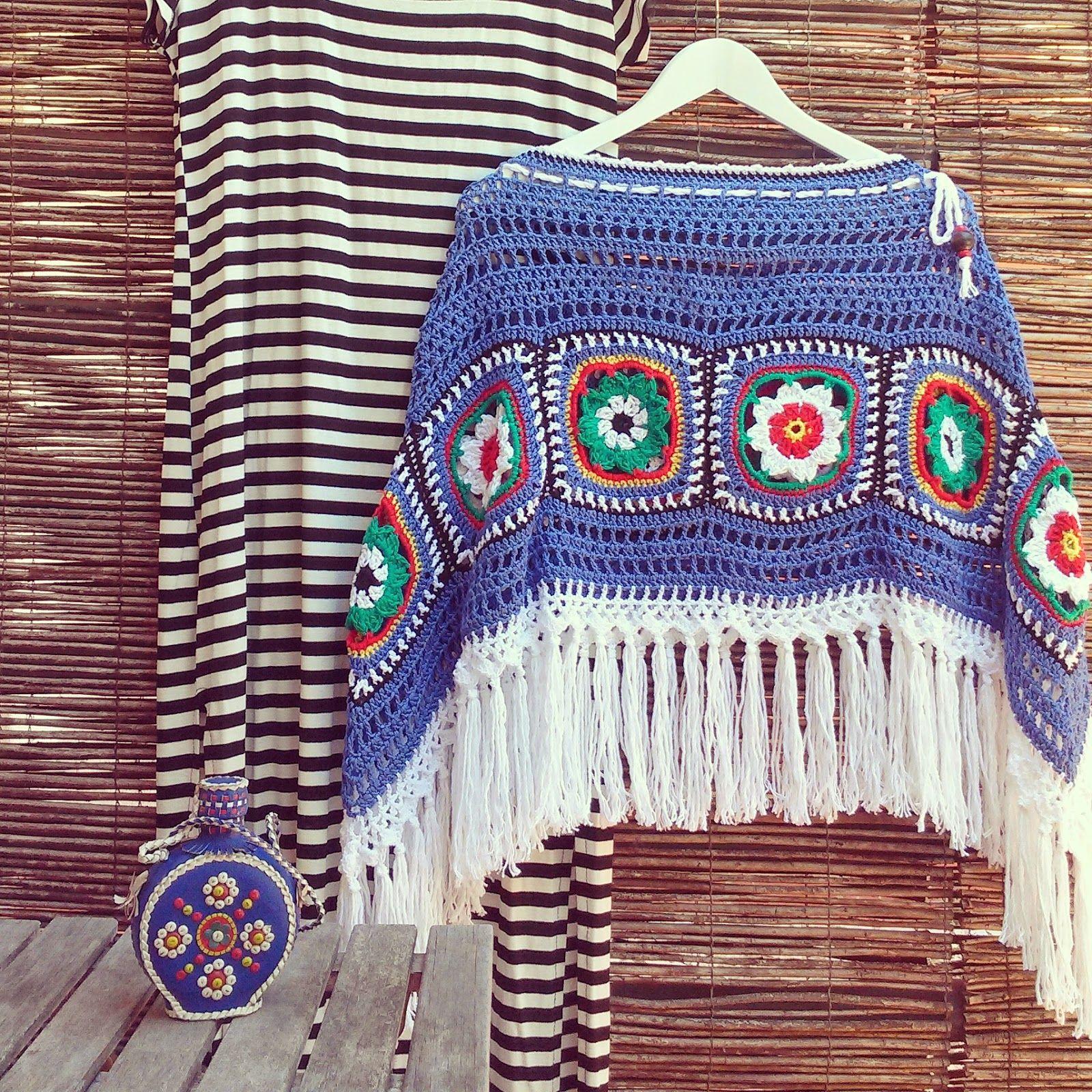 crochelinhasagulhas: bluz | nápady háčkování | Pinterest ...