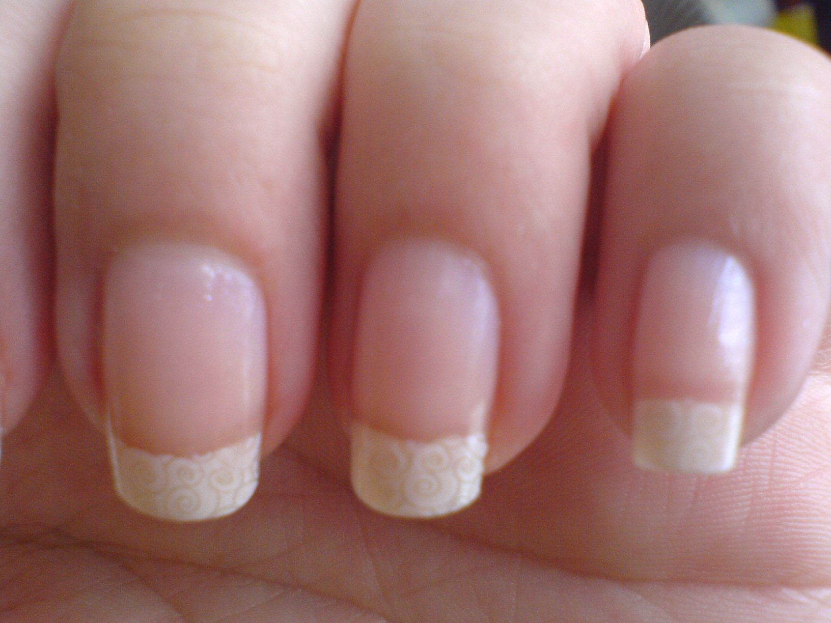 French manicure, my favorite look! Natural, clean, & classy.
