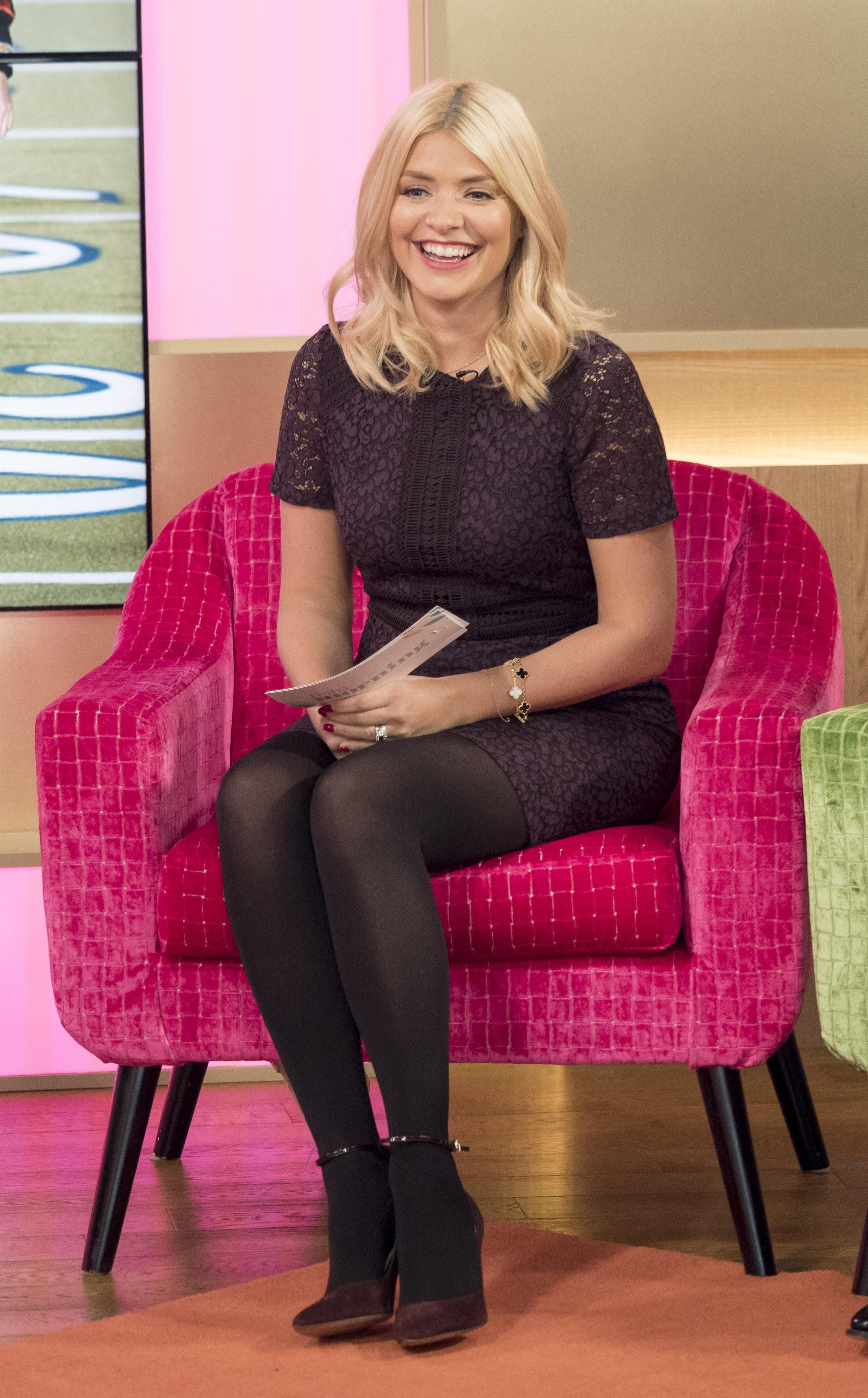 ImageBam | Holly willoughby legs, Holly willoughby outfits