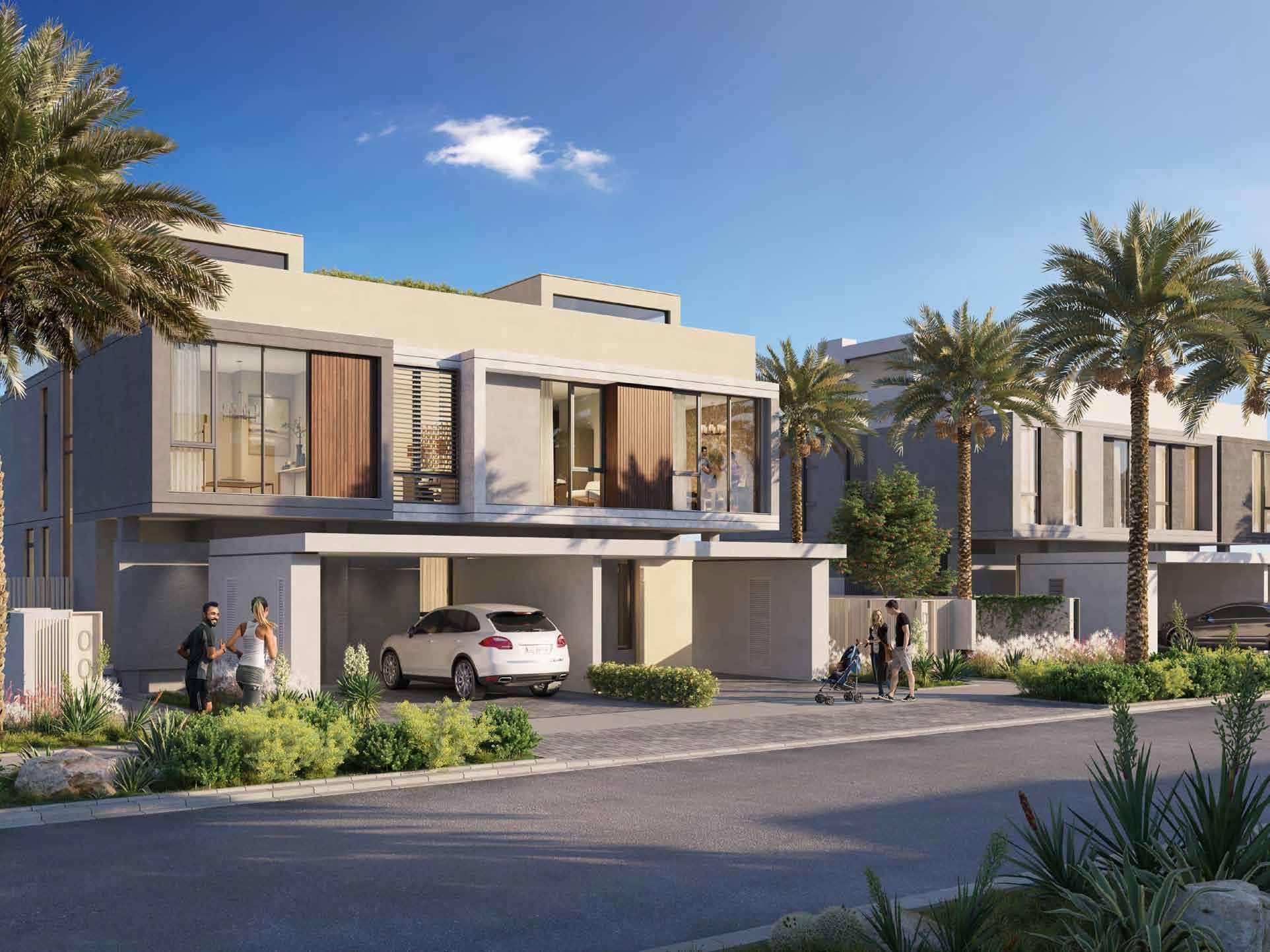 Golf Grove At The Green Heart Of Dubai Luxury Property Property Villa
