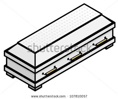 pix for coffin drawing template casket research pinterest