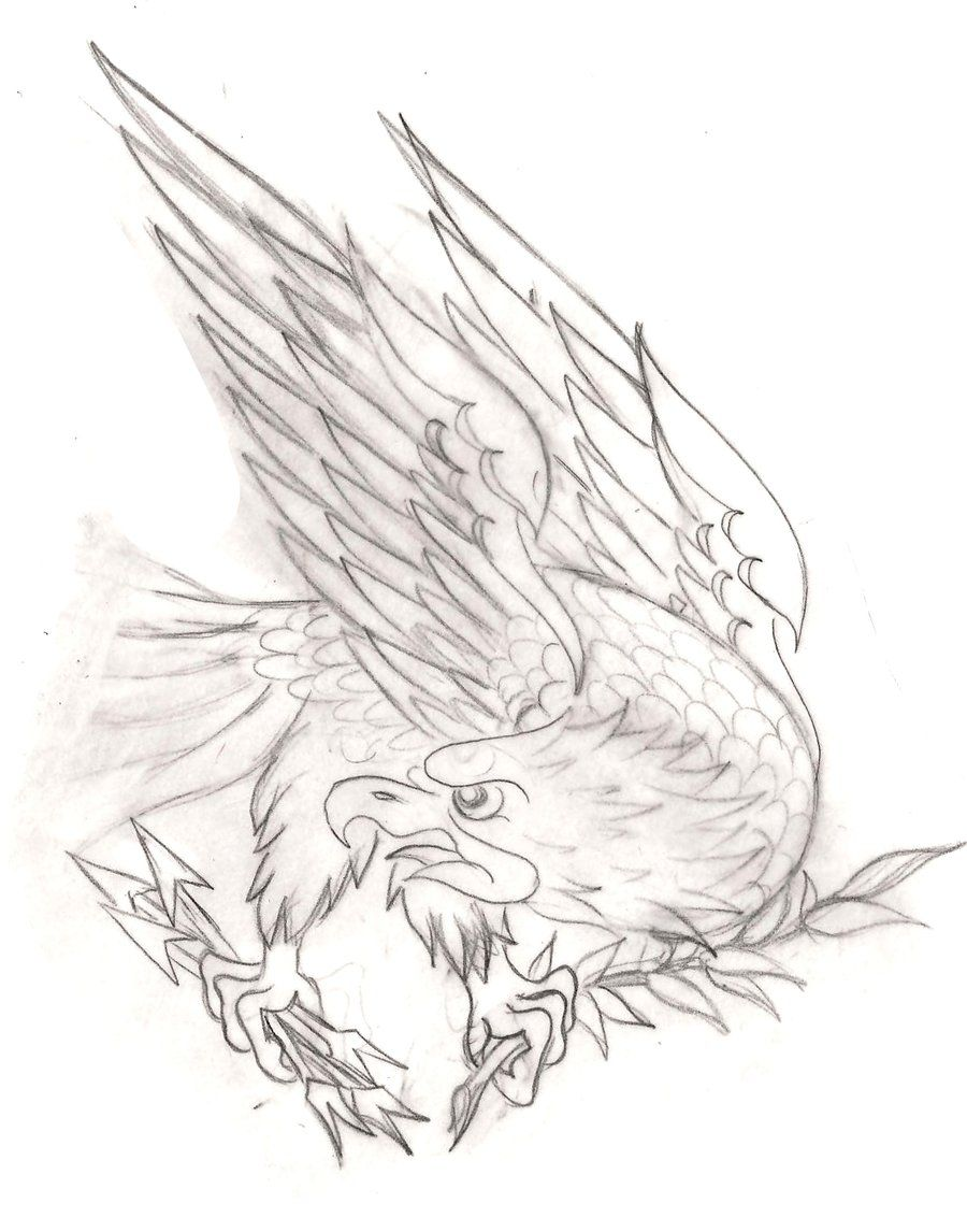 American eagle tattoos high quality photos and flash - American Traditional Eagle Tattoo 2 By Metacharis On Deviantart
