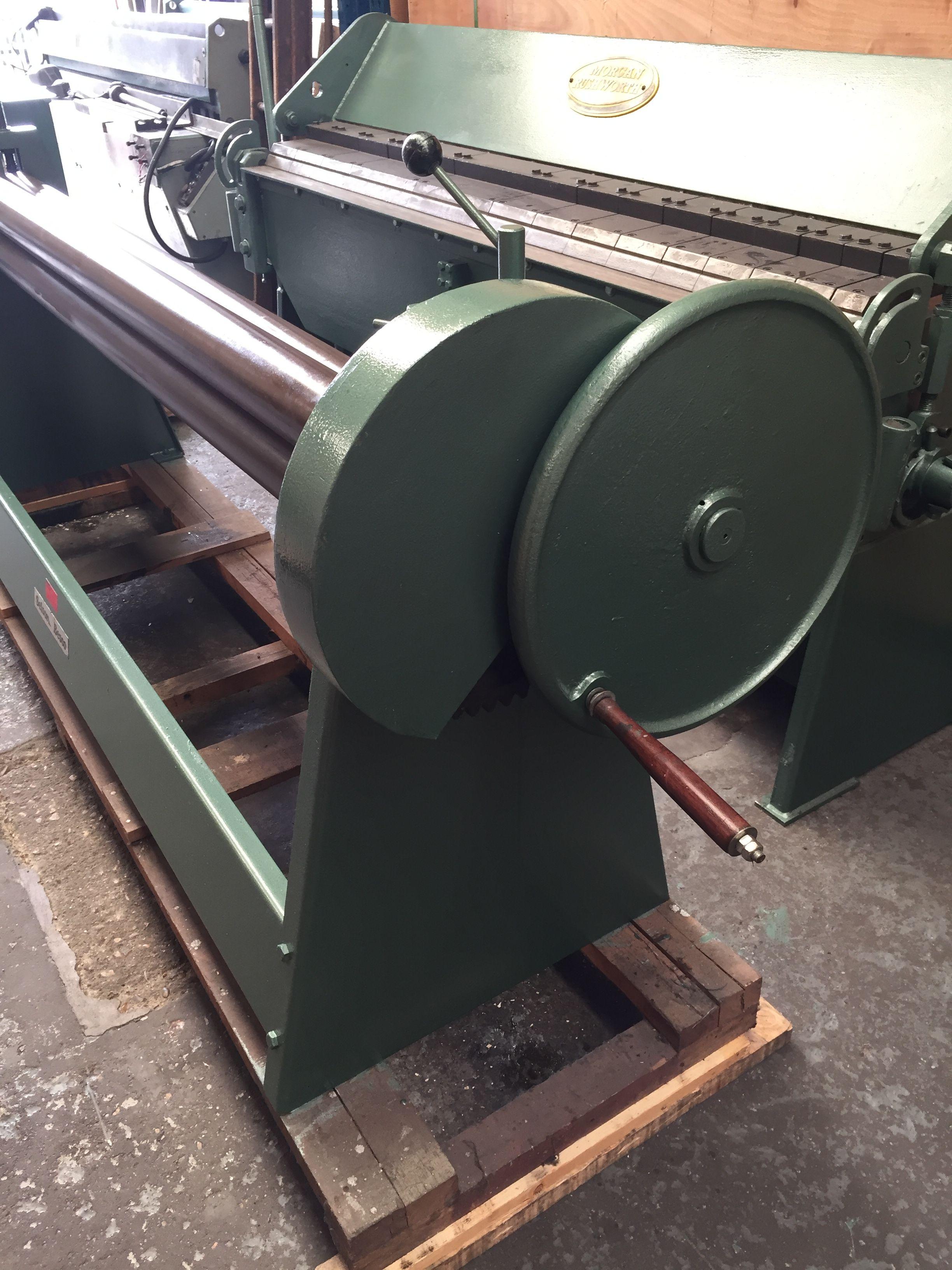Edwards Sheet Metal Geared Bending Rolls Sheet Metal Sheet Metal Machinery