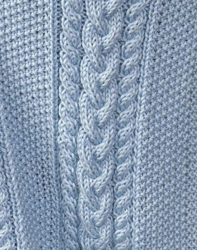 Free Pattern: Little Boy Blue Baby Blanket | Knit baby blankets ...