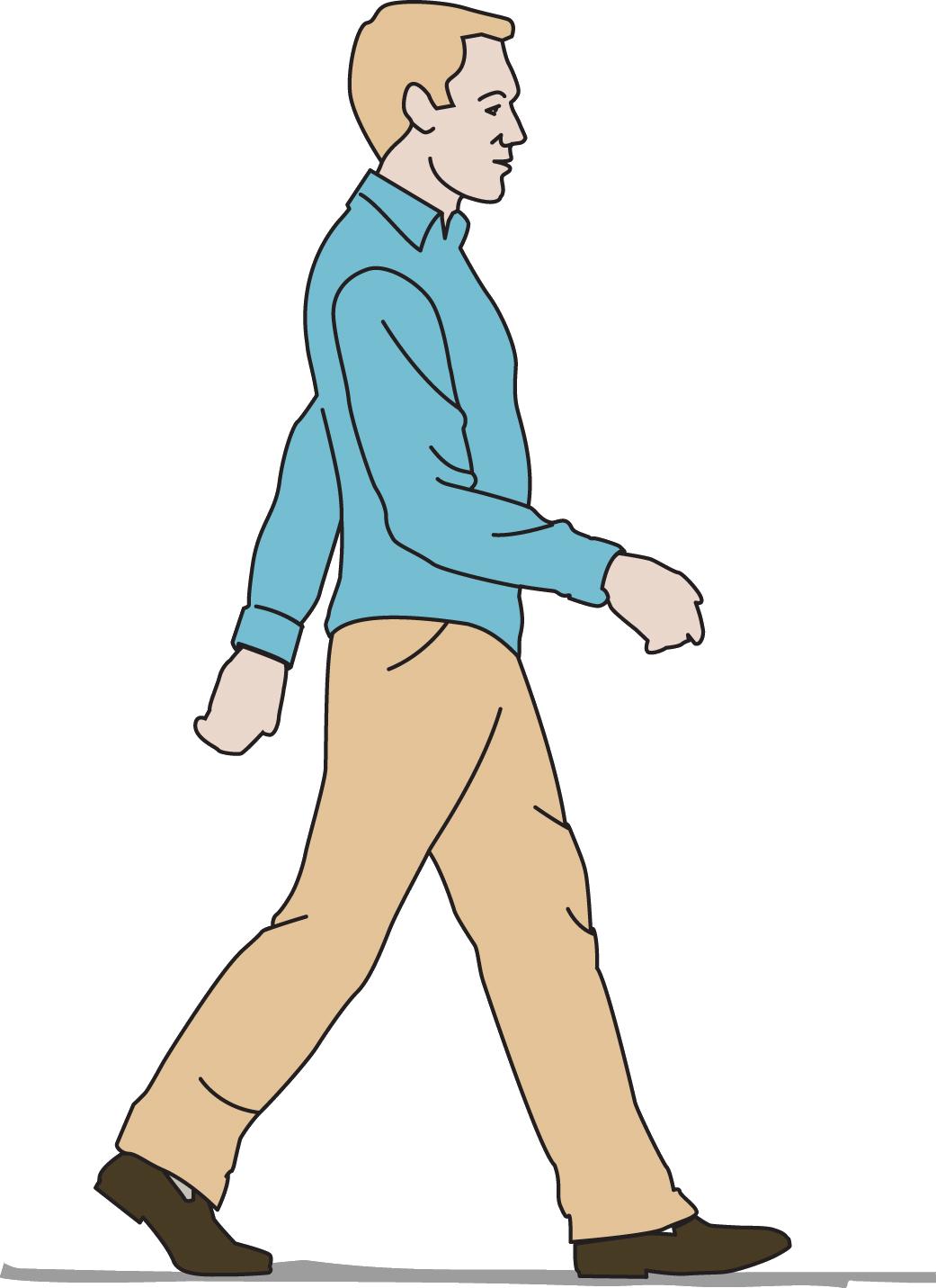 картинки для идущего человека берегу