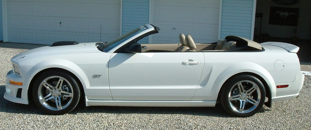 Modified 2005 Mustang Gt Convertible The Mustang Source Ford