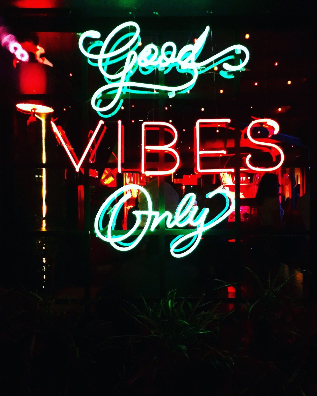 Good Vibes Only With Images Neon Quotes Neon Lighting Custom