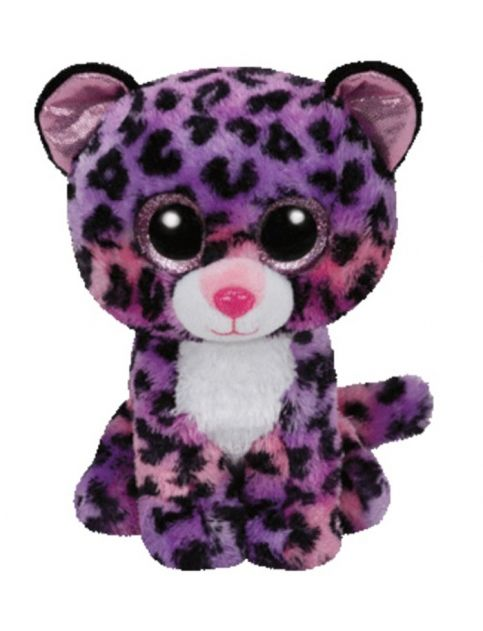 Jewel Cheetah 8 Inch Beanie Boo Girls Small Plush