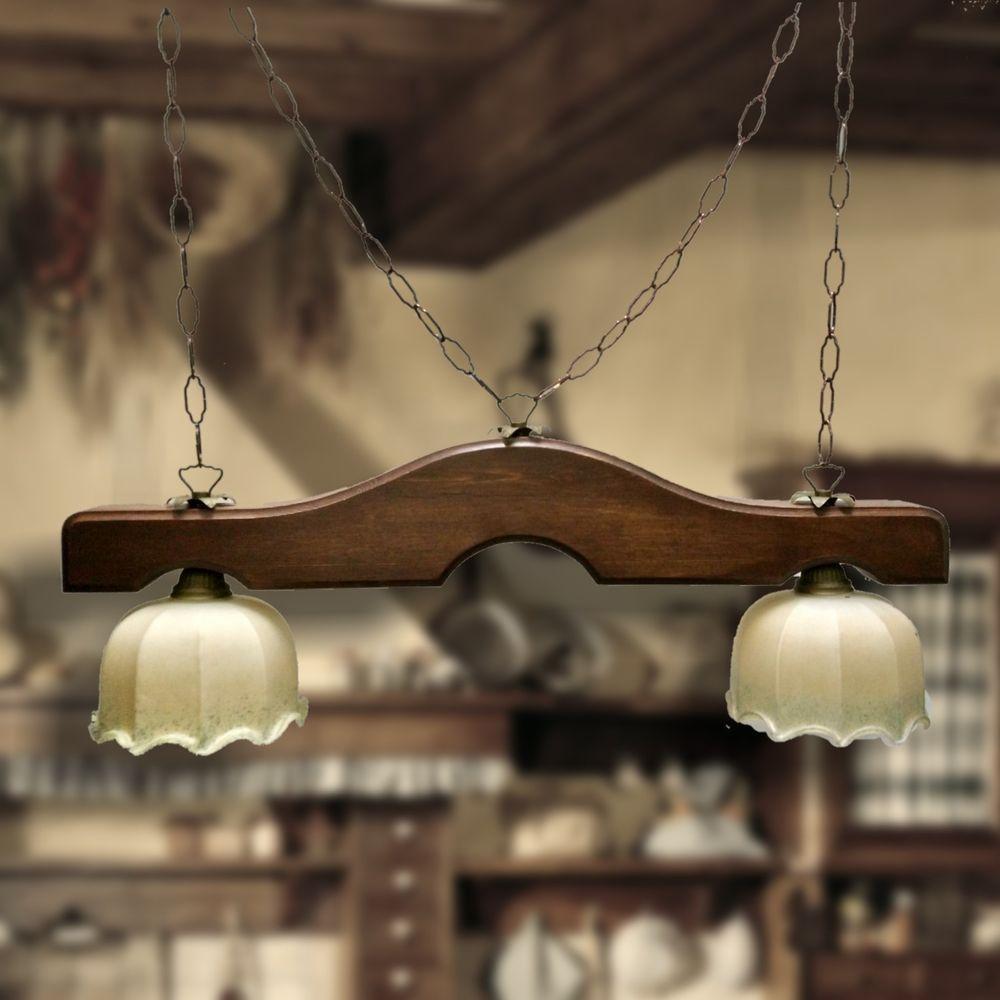 Lampade Da Soffitto Per Taverna dettagli su lampadario bilanciere ferro e legno rustico