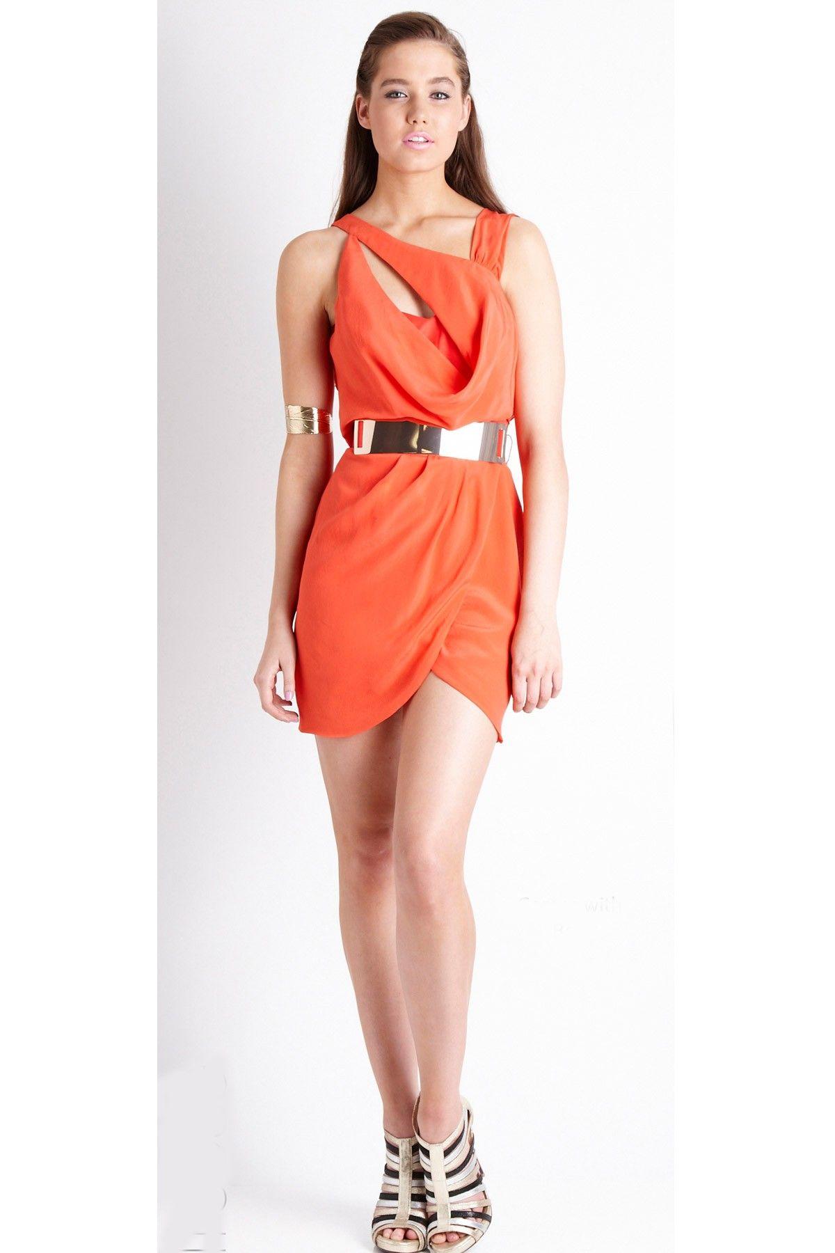Truese - Sculptural Dress