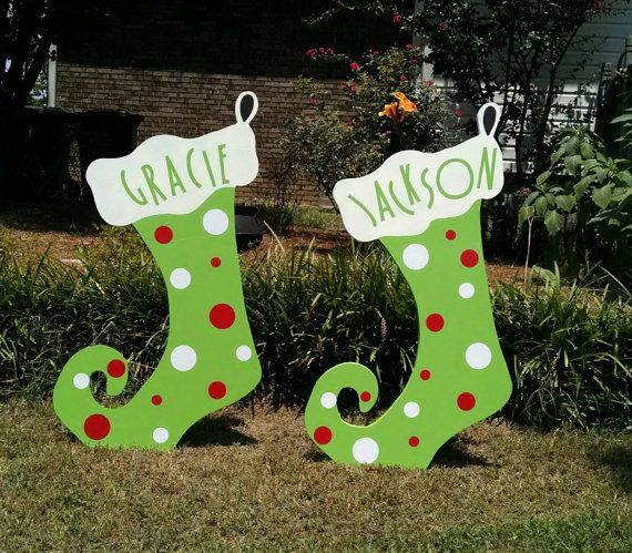 Hey i found this really awesome etsy listing at https Wooden outdoor christmas decorations