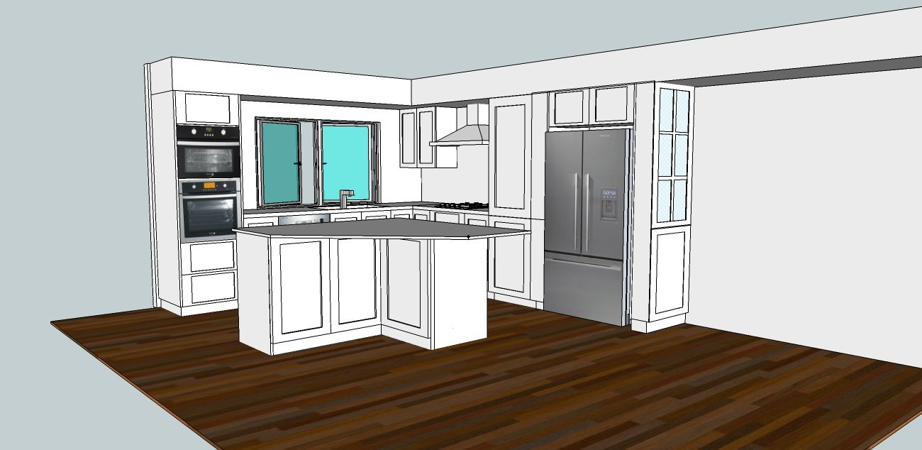 A Kitchen Design Layouts That You Can Use For Free Drawings In Pdf Or 3d Using Google Sketchup Kitchen Design House Design Home Decor