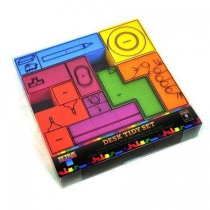 Tetris Kirjoituspöytäsetti - Tilaa nyt edulliseen hintaan! - AlphaGeek